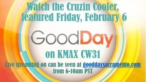 Watch us on Good Day Sacramento Friday, February 6