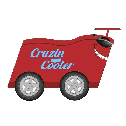 cruzin cooler - don't leave the party behind  take it with you! cruzin  cooler